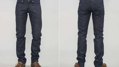 Sweet-Smelling Jeans - The Scratch-n-Sniff Pants by Naked & Famous Denim are Enticing