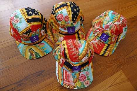 Radiant Religious Hats - The SKULLS 'Mary' Line Gives the Virgin Mary Stylish Street Cred