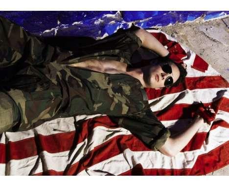 60 Militaristic Menswear Features