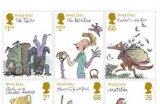 Literary Postage Fares - The Roald Dahl Stamps Celebrate His Most Famous Children's Novels