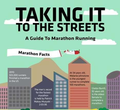 Long-Distance Running Infographics