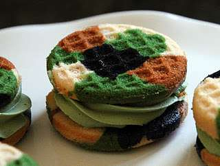Camouflage Whoopie Pies - The 'Life is Sweets' Blog Creates Magical-Looking Treats