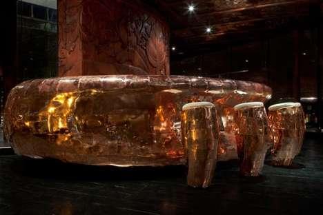 Luminous Copper-Clad Bars