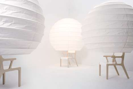 Intimate Enclosed Seating - The Object-O by Seung-Yong Song Creates a Private Space