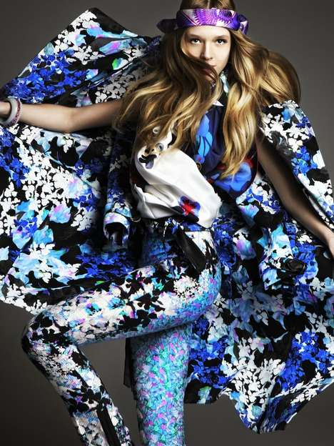 Frenzied Floral Fashion