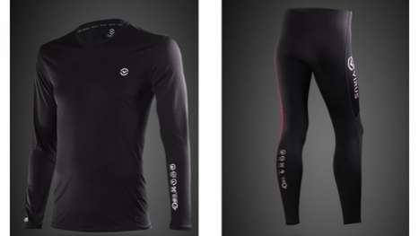 Repurposed Coffee Sportswear - Virus 'Stay Warm' Line Transform Java Grinds Into Athletic Gear