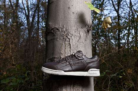 Moose Leather Low-Tops - Game Animals Inspire the Reebok Workout 25th Anniversary Collection