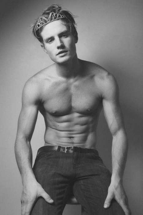 Tiara-Toting Male Models