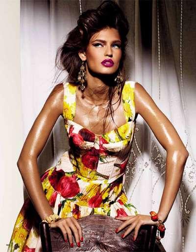 Glamorous Floral Fashion