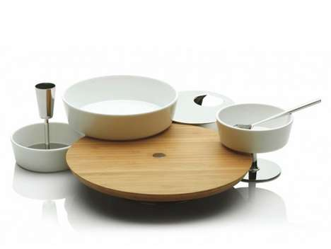 Modular Appetizer Kits - The Ape Aperitivo Set by Giulio Iacchetti Will Make Hosting a Party Easy