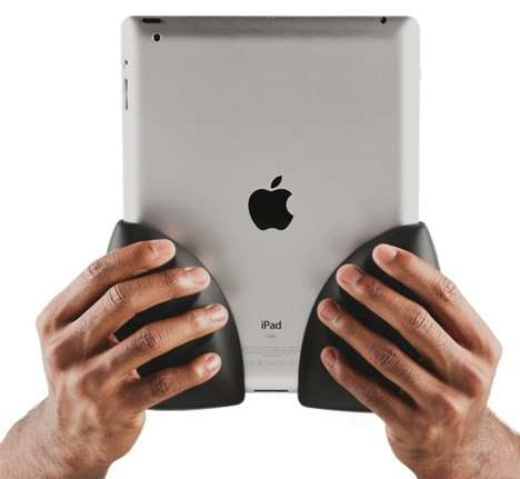 Ergonomic Tablet Grapplers - Comfe Hands Helps Make Handling the Device More Comfortable