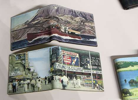 Picturesque Cash Carriers - Jack Spade Postcard Wallets Show America in a Beautiful Layout