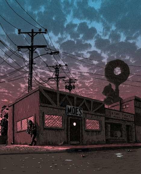 Fictional Location Artwork