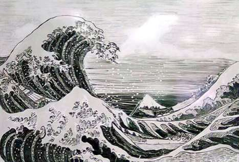 Famous Whiteboard Artwork - Bill Taylor Recreates Iconic Paintings with Office Supplies