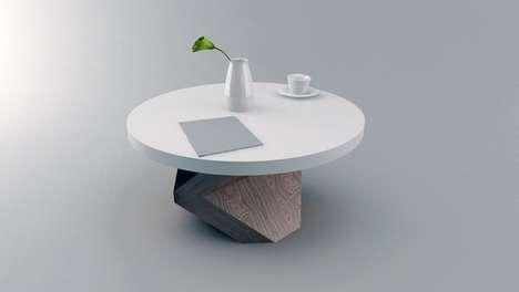 Kneeling Coffee Tables