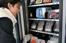 Fishy Food Dispensers - Spain Introduces the World's First Seafood Vending Machine