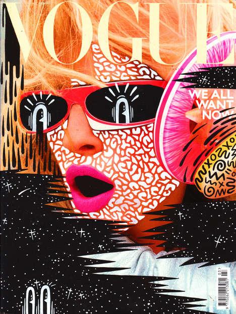 Expressive Pop Art Covers