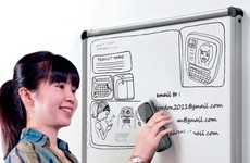 High-Tech Whiteboard Erasers