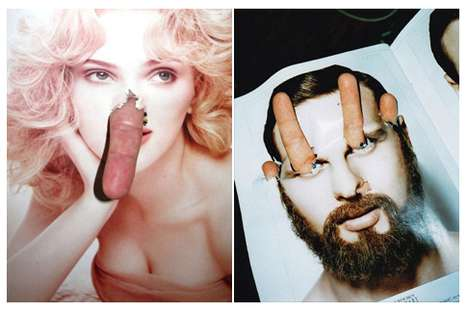 Fingered Fashion Artwork
