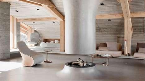 Modernized Ski Lodges