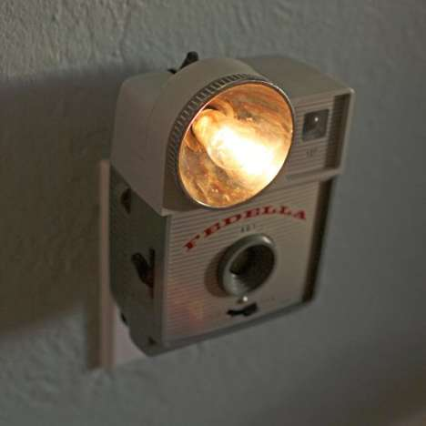 Retro Camera Room Lights