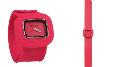 Slap Bracelet Timepieces