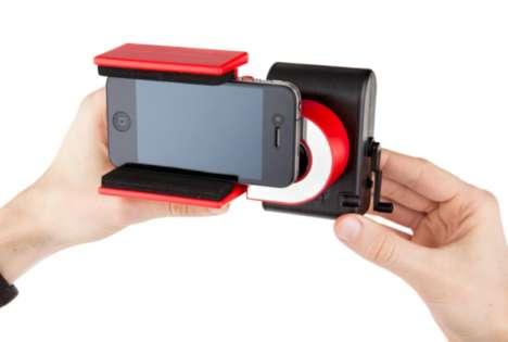 Handcrank Mobile Camera Cases