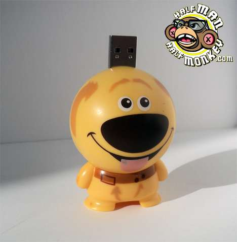 Fantastic Film Animation USBs - The Disney Pixar Flash Drives Bring Loving Characters to Life