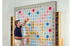 Mammoth Word Scramble Boards - Have a Vocabulary Battle on the World's Largest Scrabble Game