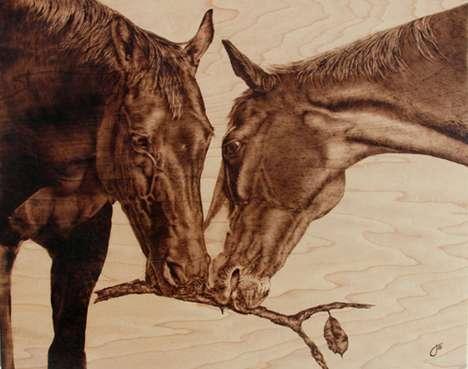 Photoreal Wooden Wildlife