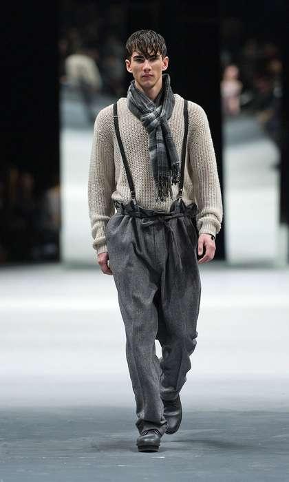 Superb Suspender-Clad Looks