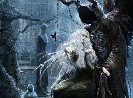 Gory Gothic Fantasy Art