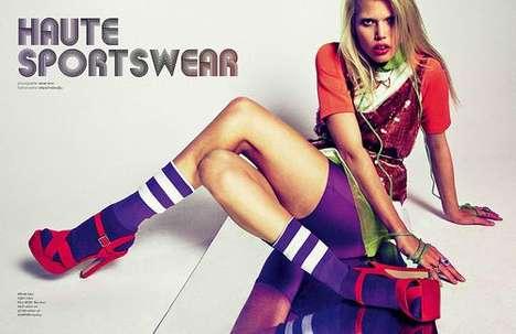 Neon Sportswear Editorials