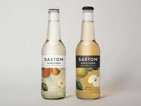 Naturalistic Beverage Branding