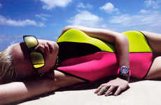 Electric Neon Swimsuits