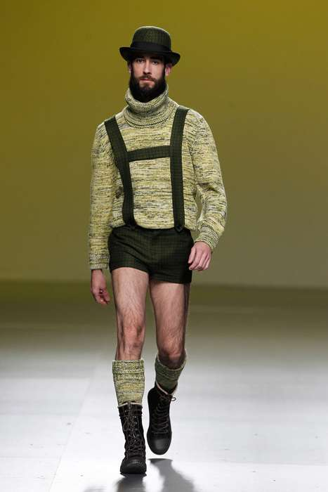 The Carlos Diez Fall/Winter 2012 Line Offers a New Twist on Tradition