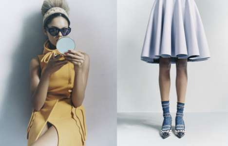 David Slijper Channels Still Life in Fashion with Color Blocking