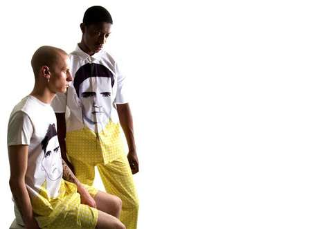 Face-Printed Menswear