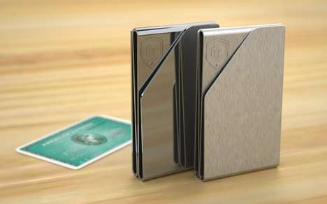 Polished Pleated Billfolds