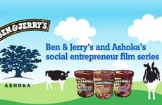 Social Dessert Challenges - Ben & Jerry's 'Join Our Core' is for Socially Responsible Entrepreneurs