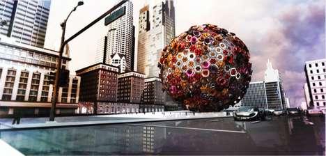Spherical Coral Concert Halls