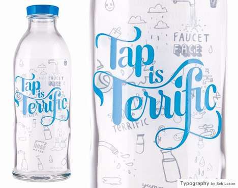 These Facet Face Water Bottles Urge People to Return to the Tap