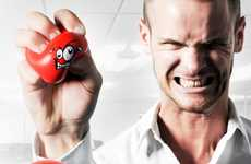 Animated Stress Balls - Release Your Frustration with the Funky-Faced Anger Management Set
