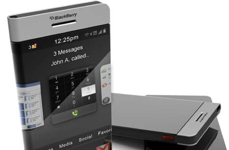 Continuous Screen Smartphones