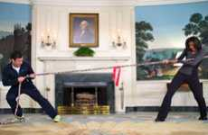 White House Viral Videos - Jimmy Fallon and Michelle Obama Square Off in a Fitness Challenge
