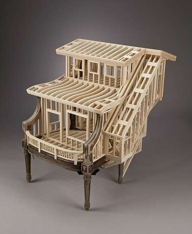 Architectural Armchair Art