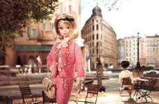 European Couture Doll Lines - The 2012 Barbie Fashion Model Collection Based on 'Atelier' Theme