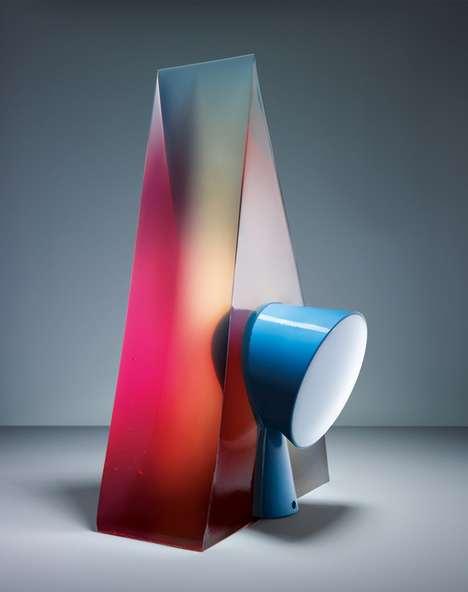 Colorful Gelatin Lamps