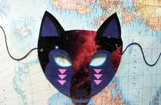 Galactic Animal Accesories - The Woodland Creatures Mask Set Plays on a Masquerade Theme