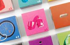 Iconic Infusion Branding - Tea Bar Packaging Assumes a Punchy Identity to Complement its Flavors